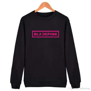 [PO] Unisex K-Pop Blackpink Casual Long Sleeves Korean Trend Fashion Style ( Black Pink )