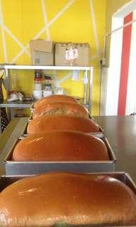 Roti Buku (pullman bread)