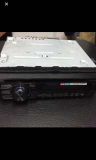 Pioneer Single Din CD player with usb