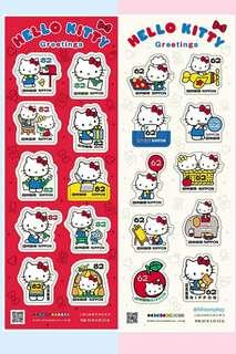 [已全部沽清] Hello Kitty 2018郵票