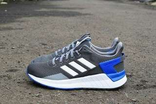 ADIDAS QUESTAR RIDE GREY WHITE BLUE ORIGINAL