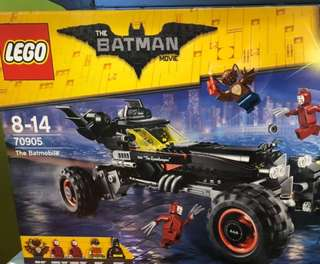 Lego Batmobile (lego batman movie)