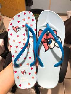 蘭芝聯名拖鞋#五十元好物