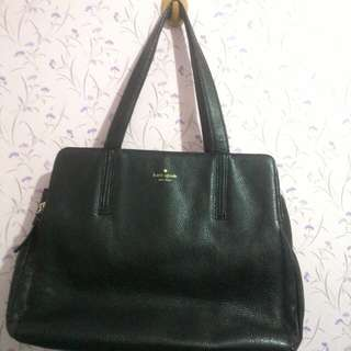 Authentic Kate Spade leather bag