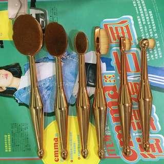 Paddle brush set