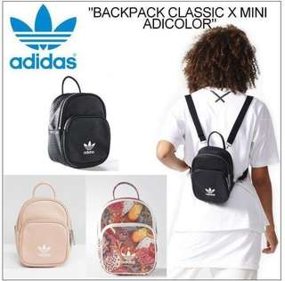Adidas Mini Backpack Ladies Black