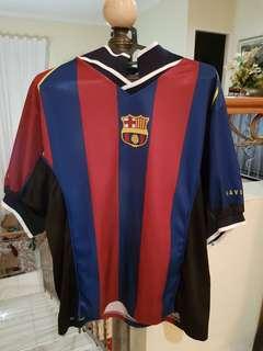Baju Bola Barcelona Saviola