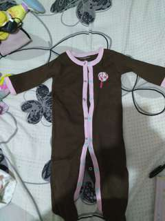 Sleepsuit candy by birds&bees