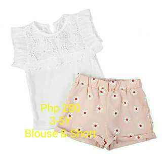 BRANDNEW! Blouse & Short