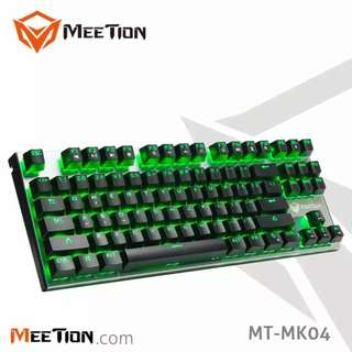 Meetion MT-MK04 RGB 87 Keys Blue Switch Mechanical Gaming Keyboard
