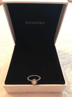 Pandora Birthday Bloom Ring