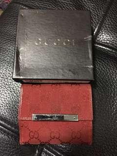 Gucci 短銀包 (新舊如圖)