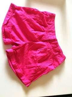 Dark Pink Shorts
