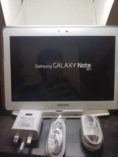 SAMSUNG NOTE    10.1 With Pen 2ND Hand very good condition *specification* %95 so clean  10.1. inches  16 gb Internal storage 128gb expandable memory With simcard & wifi & calling ok all Available color White& black Can pick up  Everyday TST MTR station