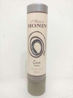 Monin Latte Art 拉花筆 Flavoured Sauce Cocoa 朱古力味 150ml, 筆咀幼, 可蛋糕/曲奇/咖啡上拉花