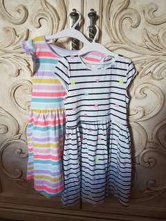 H&M girls summer dresses - Size 6/8