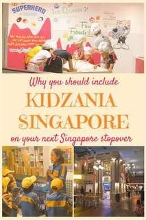 Kidzania Singapore Admission Ticket