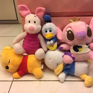全新迪士尼趴睡小熊維尼pooh 小豬 趴趴系列 睡眠唐老鴨 ufufy雲朵香氛趴睡系列 娃娃 玩偶
