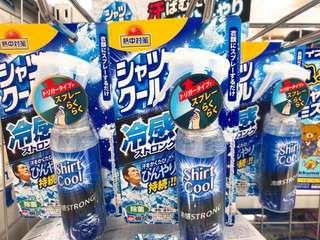 日本連線預購日本製桐灰熱中對策冷感衣物噴劑(100ml)