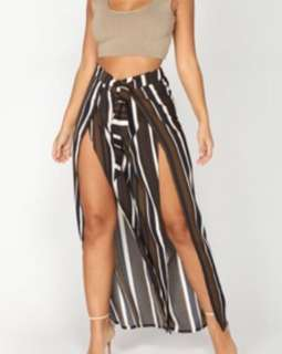 Fashion Nova Slit Pants