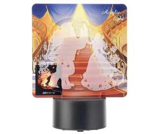 Disney Beauty & the Beast Belle Acrylic Light 美女與野獸燈飾