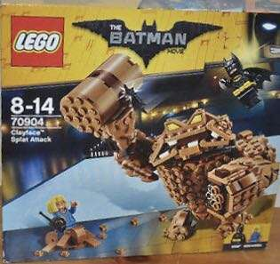 Lego Clayface (batman lego movie)
