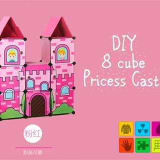 DIY 8 cube princess castle