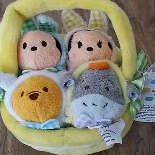 Disney Store Tsum Tsum 'Easter Basket 2016' set