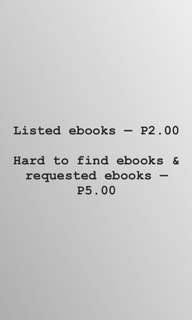 🌻 Ebooks for sale 🌻