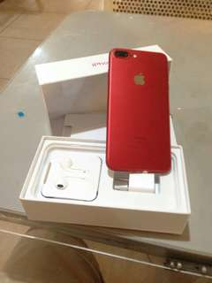 IPhone 7Plus OPENLINE 128GB. RED EDITION.