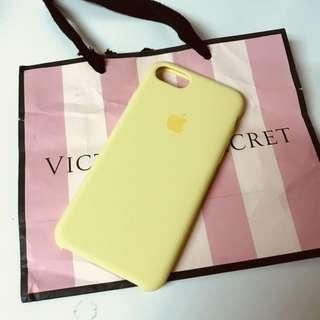 100% Apple Original iPhone 7/8 Case - Yellow 旦治黃