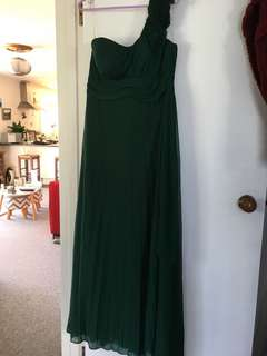 Emerald Green Ball Dress