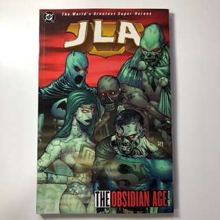 DC Comics THE OBSIDIAN AGE book two