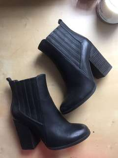 Size 8 Black Booties