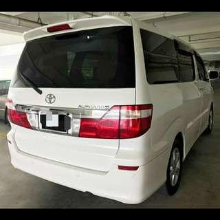 TOYOTA ALPHARD 2.4G (A) SAMBUNG BAYAR BAYAR /CAR CONTINUE LOAN