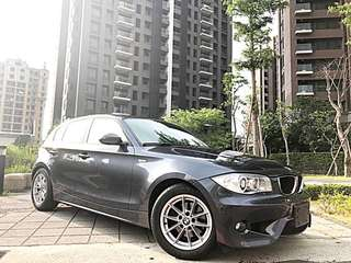 全額貸專區~2007年式BMW120I 2.0 總代理 M版 履約保證原鈑件