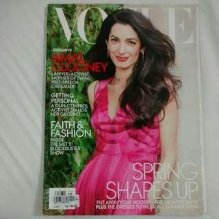 US Vogue May 2018