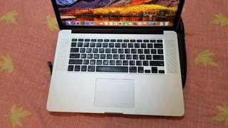 2012 Macbook Pro Retina 15吋 I7/8G/256G 功能順無維修 獨顯GT650M 附提包