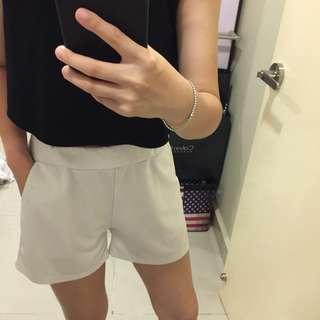 Comfy White Shorts
