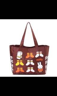 💯%日本正品Miffy包包、大容量、實用👍🏻