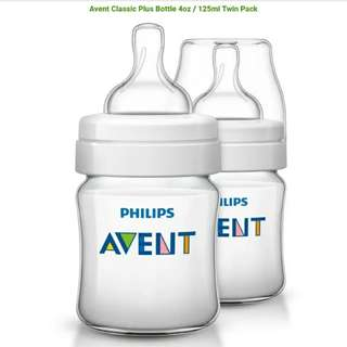 Avent Bottle Classic Twin Pack