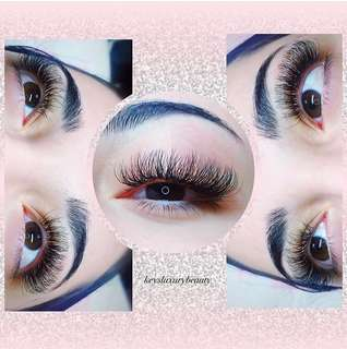 ♥️$60 QUALITY EYELASH EXTENSIONS!!♥️
