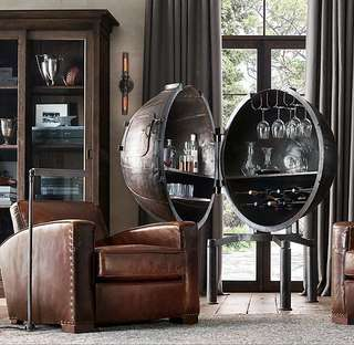 Gorgeous Restoration Hardware Bar