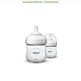 Avent Natural Bottle 4 / 9 / 11 Twin Pack