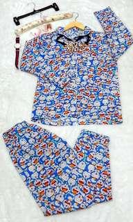 Pijamas/pajamas/piyama/bajutidur like new pake bentaran aja size L bagus 😍
