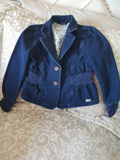 Girls Mexx jean jacket size 6/8