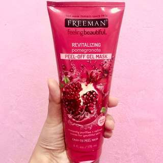 Freeman pomegranate (revitalizing) peel-off mask