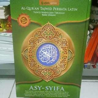Al Quran  Asy Syifa  Tajwid  Perkata  Latin