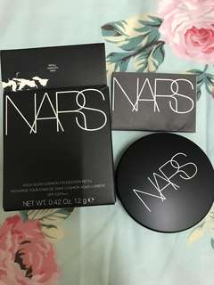 🛍秒殺 清貨 現貨 一盒🛍 NARS 氣墊粉底# NAMSAN    AQUA GLOW CUSHION FOUNDATION SPF23 PA++ – NAMSAN