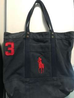 Ralph Lauren Tote Bag , Navy Blue